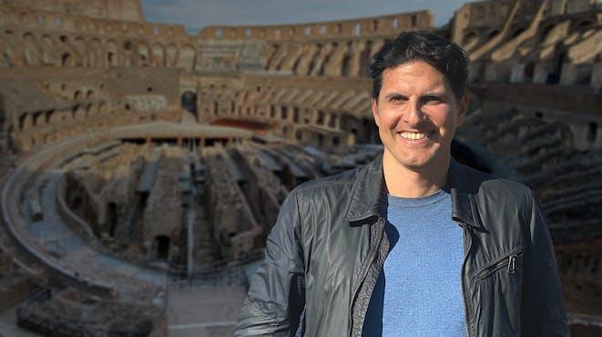 Dr. Darius arya in colosseum