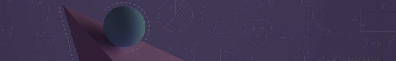 Geometric shapes on a background