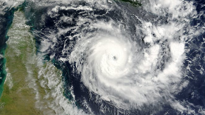 Hurricane forming